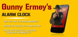 R. Lee Ermey's Alarm Clock